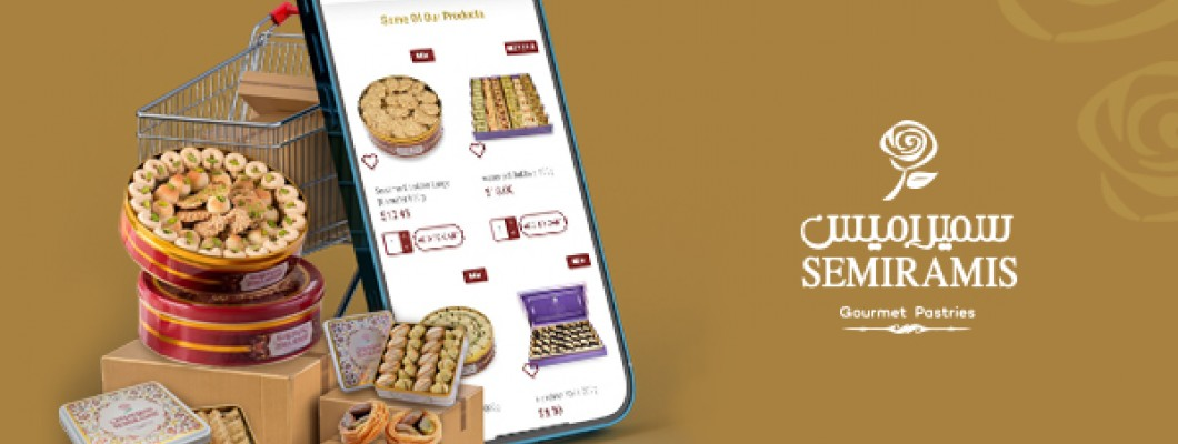 The famous quality and original Semiramis sweets are just a few clicks away