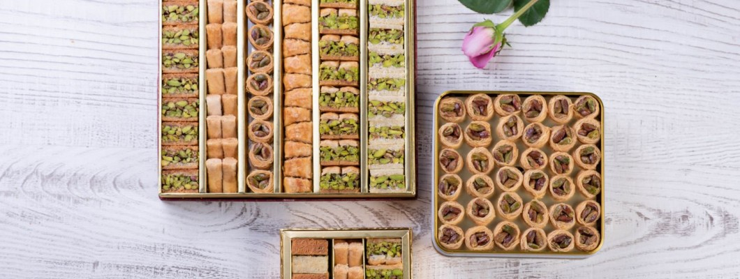 The Authentic Pistachios Baklava Bites from Semiramis!