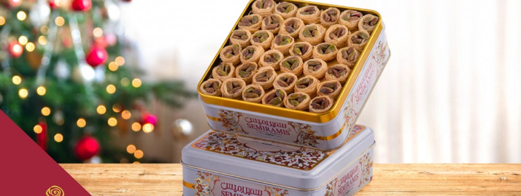 Pistachio nest from Semiramis is just a perfect gift for everyone at this festive season