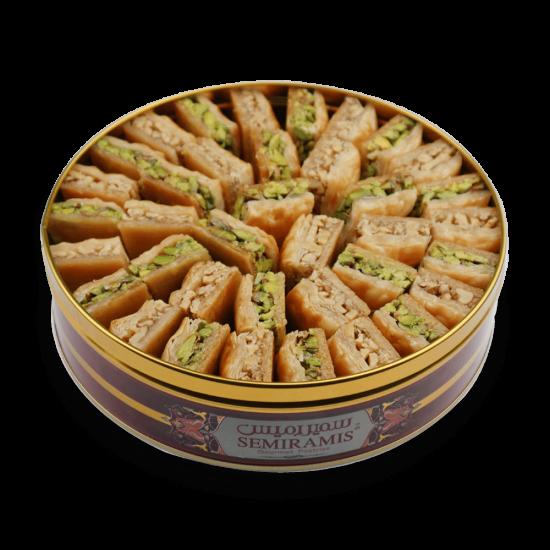 Assorted Baklava (walnuts) & (Pistachios) 950g